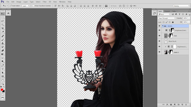 13 Design cover buku Novel dengan Photoshop CC