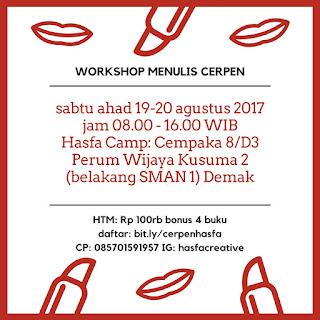 Workshop Menulis Cerpen Hasfa Camp