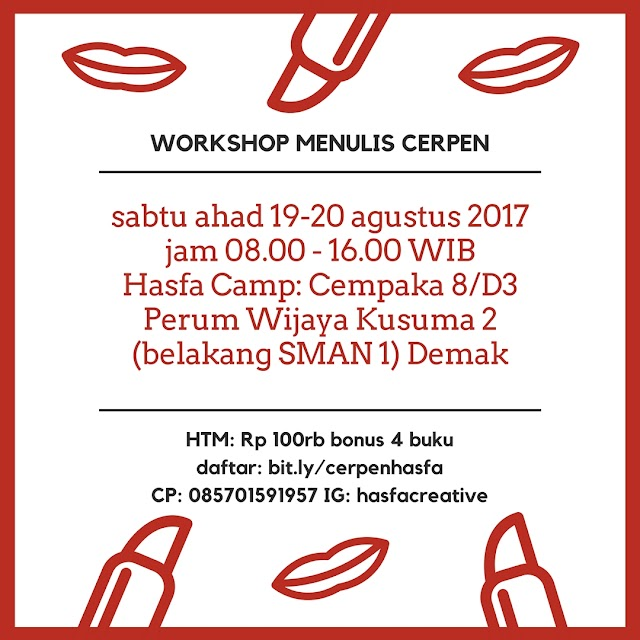 Workshop Menulis Cerpen Hasfa Camp