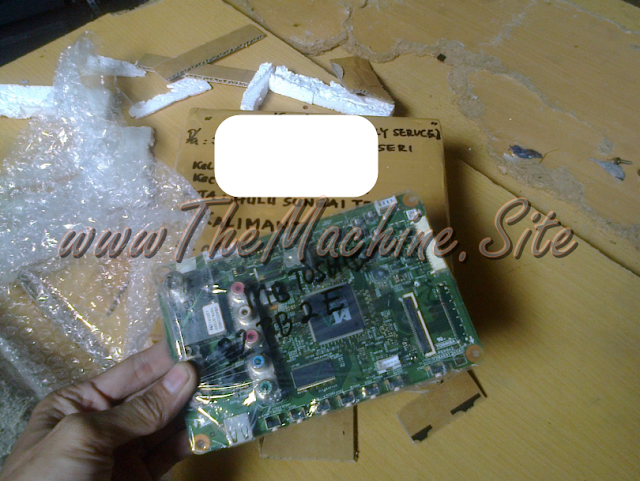 Kerusakan Mati Total Mainboard TV LCD TOSHIBA 32-Inch