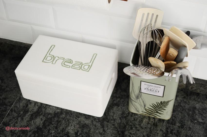 caja tallada para el pan