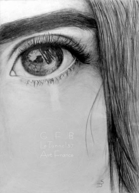 Salomé J dessin crayon graphite - Atelier LT37 cours arts Tours amboise st cyr sur loire bléré loches chenonceaux