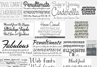 Download Kumpulan Fonts Untuk MS. Office, Corel, dan Photoshop