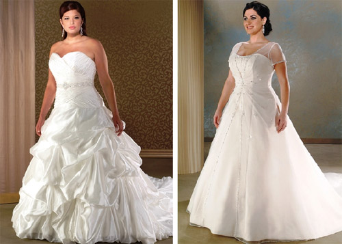 Plus Size Wedding Gowns: Sayumi: Plus Size Wedding Dresses With Color