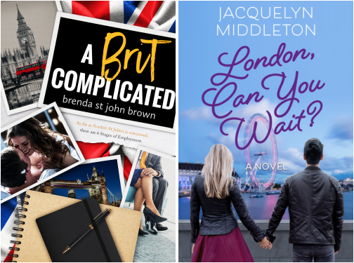 A Brit Complicated by Brenda St John Brown London Can You Wait by Jacquelyn Middleton