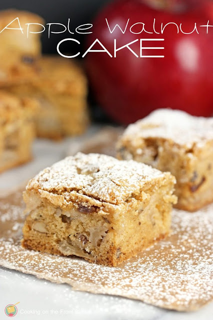 apple spice walnut cake recipe