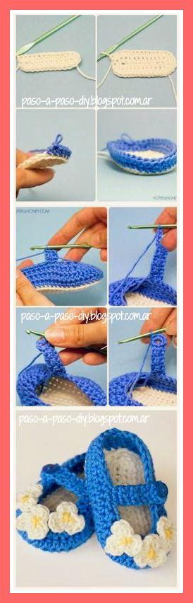 Cómo hacer zapatos tejidos
