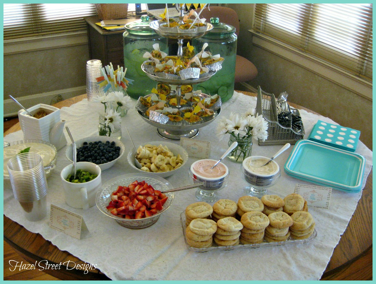 Living In My Pajamas: Little Man's Baby Shower