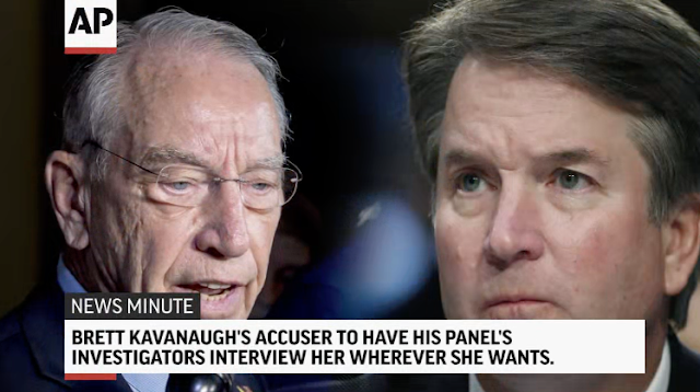 Media, ABC, PBS use Facebook to beg other Kavanaugh accusers to talk, 'Truth will emerge'