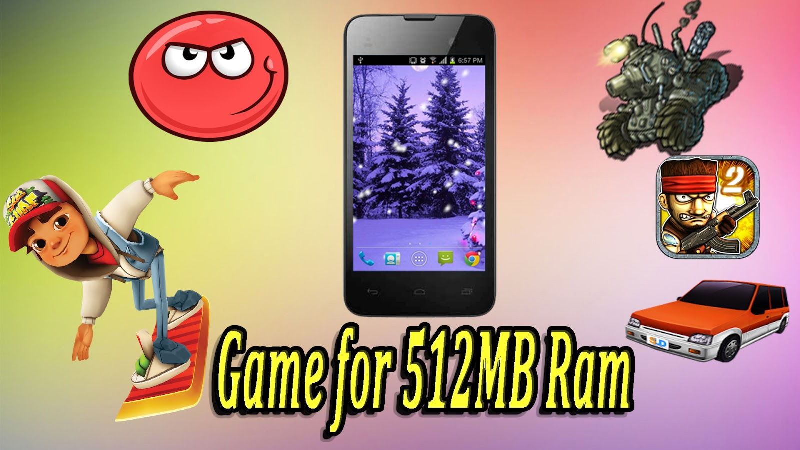 Best Android offline Game For 512 MB RAM