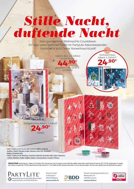 PartyLite® Online Shop - Partylite.de - Angebote Advent !