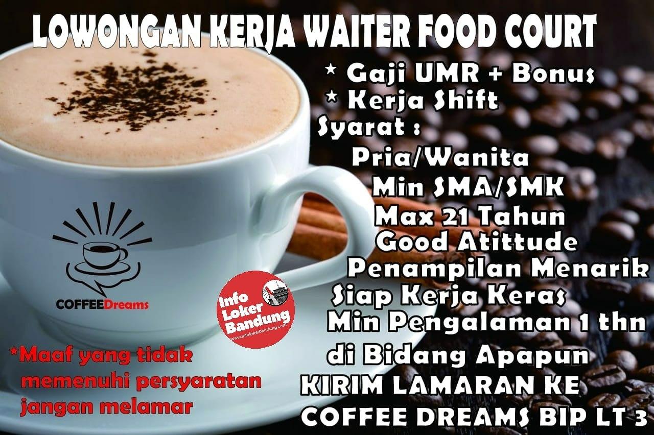 Lowongan Kerja Coffee Dreams Bandung Februari 2019
