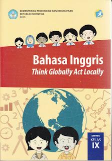 Buku bahasa Inggris kelas 9 SMP/MTS Kurtilas PDF