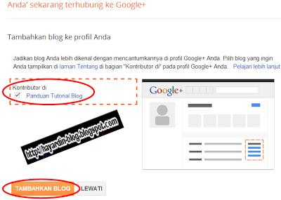 Cara Mengintegrasikan Profil Blogger dengan Profil Google Plus