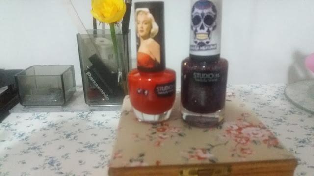 Esmalte Studio 35 Marilyn Monroe #MarilynEmpoderada 9ml     Coleção Caveira Mexicana   BOAS ENERGIAS