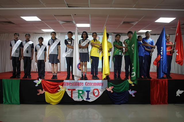 Trio World School Hosts Investiture Ceremony for 2018-19