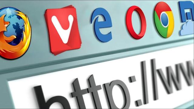 العديد من المتصفحات التي يمكن استعالها في عمل حساب Gmail