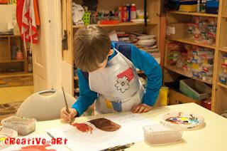 Ateliere pictura copii, prescolari Brasov