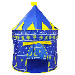 Kiddie Castle Palace Tent (Blue) - ₱ 299.00