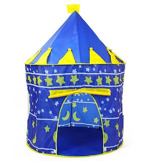 Kiddie Castle Palace Tent (Blue) - ₱ 299.00
