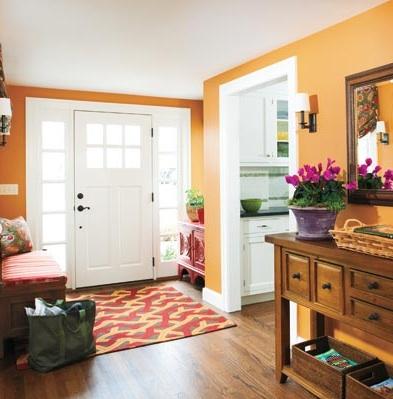 Pintar la entrada de una casa ideas para decorar - Pintar tu casa ideas ...