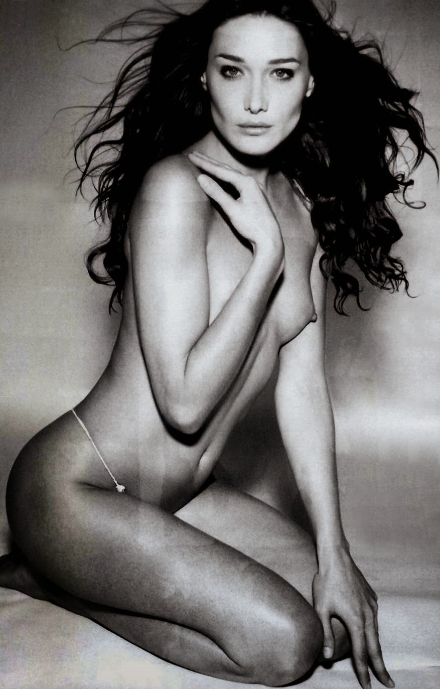 Nude Photo Of Carla Bruni Goes Under The Hammer
