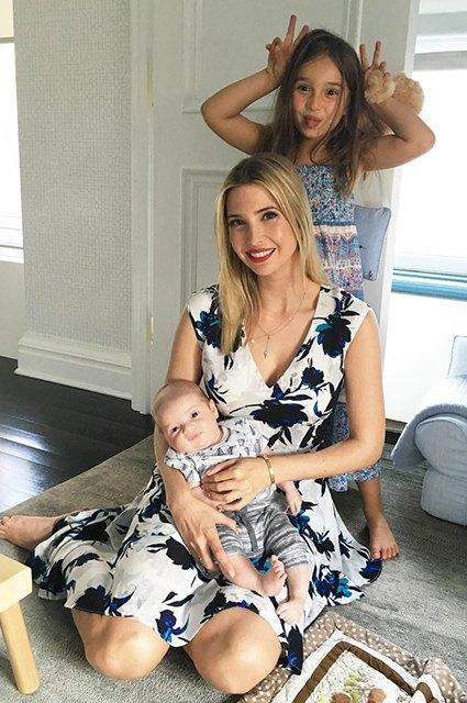 Ivanka Trump with children