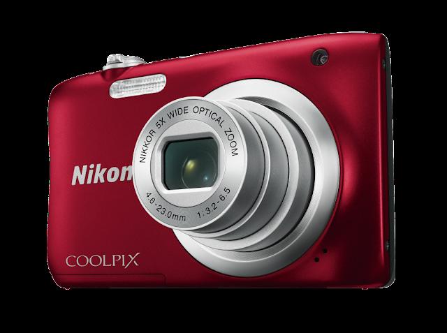 Nikon Coolpix A10 Appareil photo Compact 16 Mpix Rouge