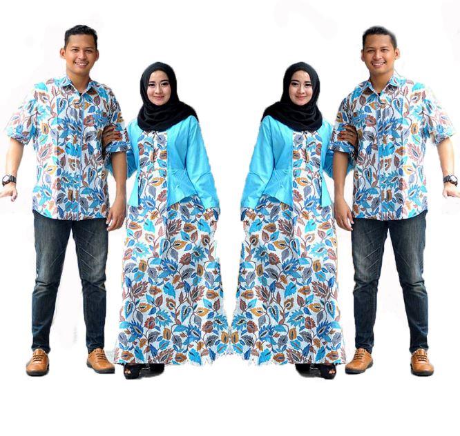Baju Batik Terbaru Muslim Couple Pria Wanita Model Foto: 10 Model Baju Batik Couple Anak Muda Masa Kini 2018