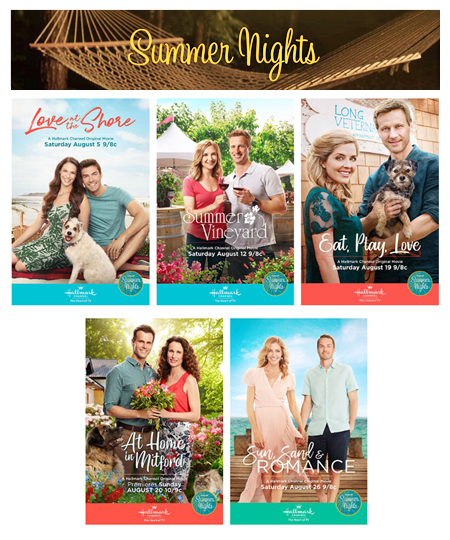 hallmark premiered five new movies throughout the duration of their summer nights movie event love at the shore summer in the vineyard eat play - Best Hallmark Christmas Movies