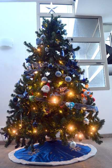 cubre pie arbol navidad