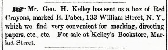 Faber-Castell advertising 1859