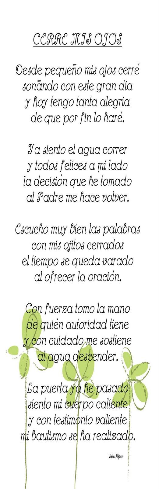 Poemas para bautizo de nio holamormon2 poemas acerca del for Poemas para bautizo