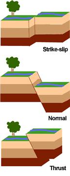 A maioria dos sismos está relacionada à natureza tectônica da Terra