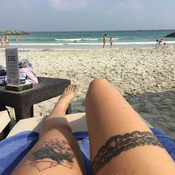 seksi jartiyer dövmesi