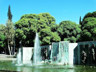 Monumento da Plaza Independencia, Cidade de Mendoza