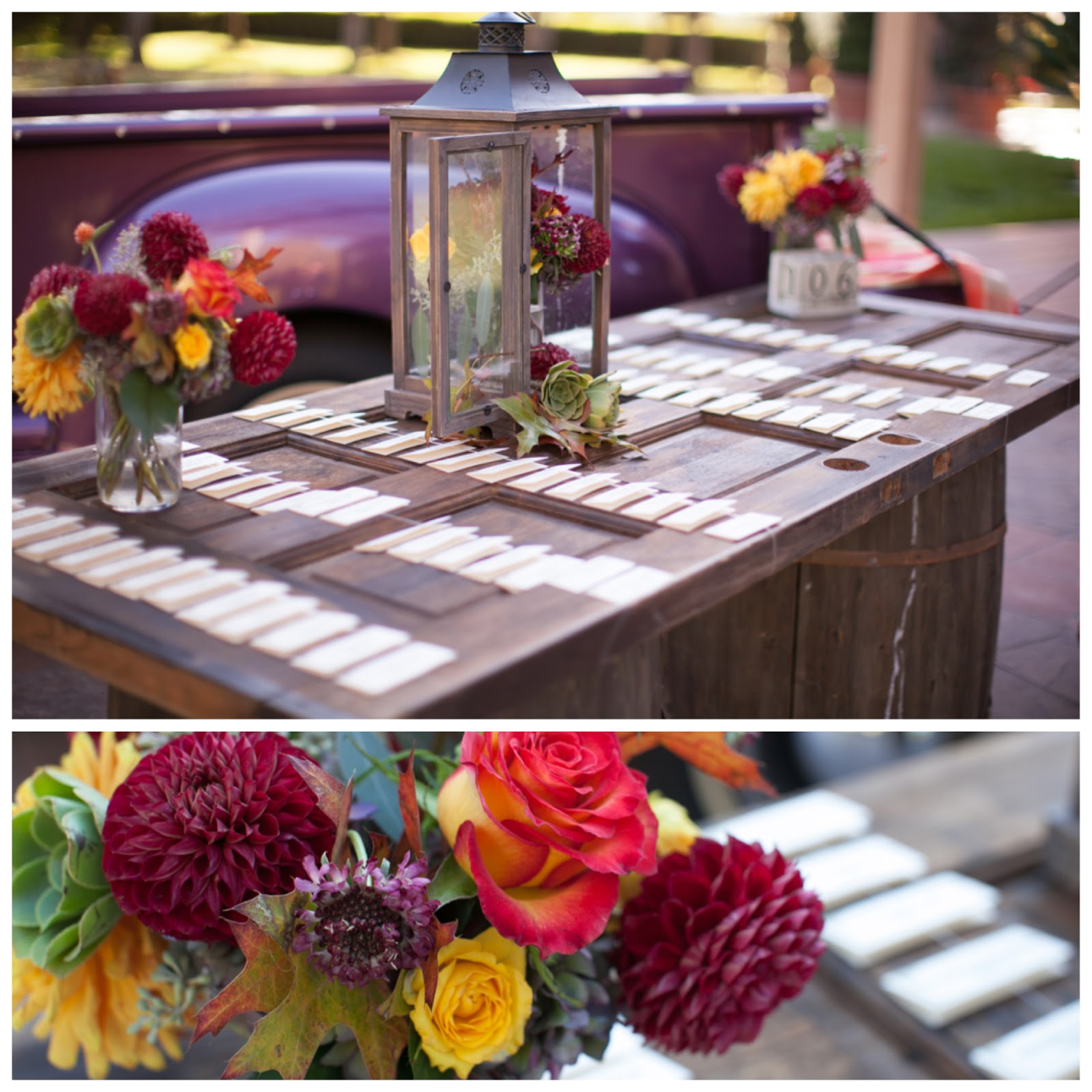 Fall Vintage Wedding Ideas: Pineapple Planet Juice: Fall Wedding