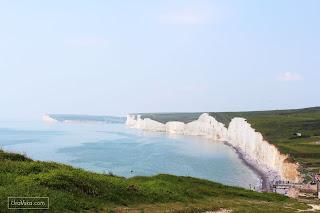 Wielka Brytania. Siedem Sióstr, czyli klify Seven Sisters  Cykl DOKĄD na weekend w UK?