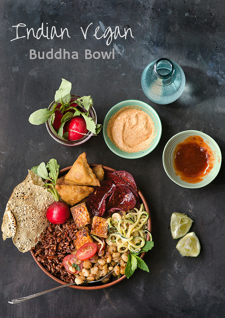 Indian Vegan Buddha / Glory / Hippie Bowls