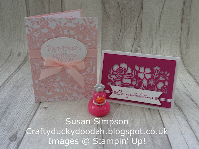 Stampin' Up! UK Independent  Demonstrator Susan Simpson, Craftyduckydoodah!, Floral Phrases, Detailed Floral Thinlets, June 2017 Coffee & Cards Project, Supplies available 24/7 from my online store,