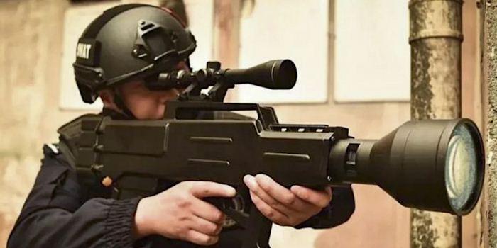 Senapan laser buatan China