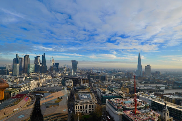 London Skyline and St. Pauls Cathedral