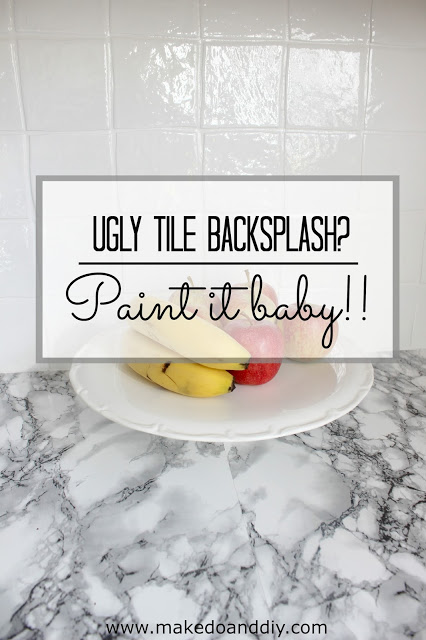 Easy DIY Painted Tile