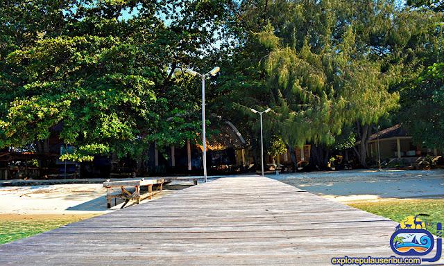 dermaga pulau genteng kecil