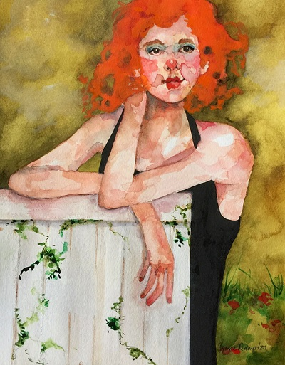 """Helloo New Neighbor!"", Irene Rampton. 