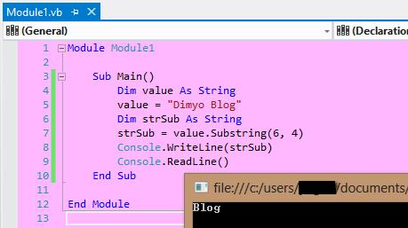 VB - Substring in Visual Basic   YOGI-TechnoPreacher QTP