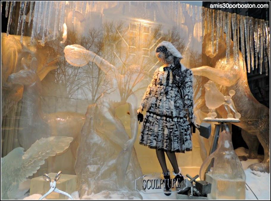 Bergdorf Goodman: Escultura