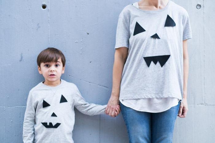 Camiseta Halloween diy