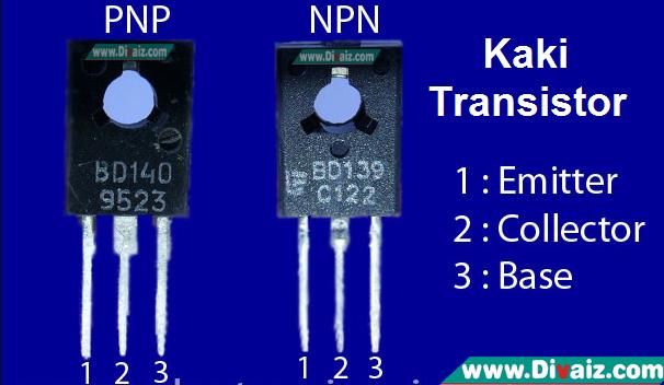 Cara Menentukan Kaki Basis-Collector-Emitor Transistor