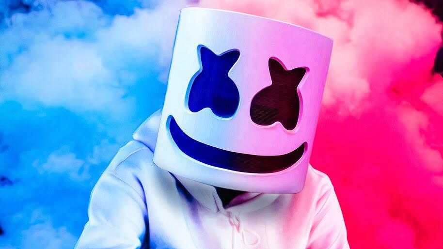 Marshmello, DJ, Mask, 4K, #4.3128